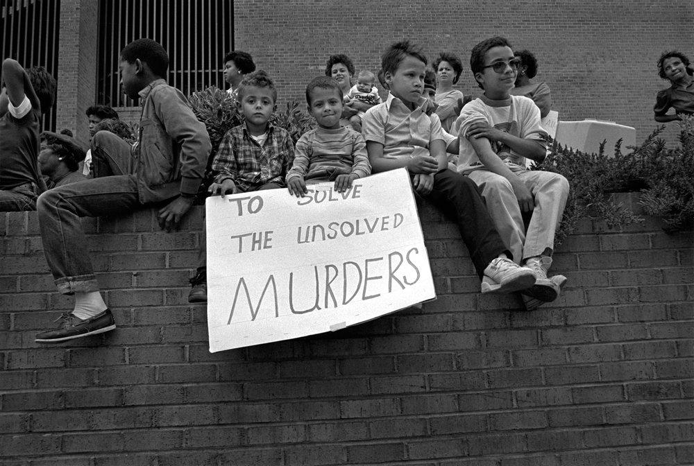 Justice Rally, Lumberton, NC 1987