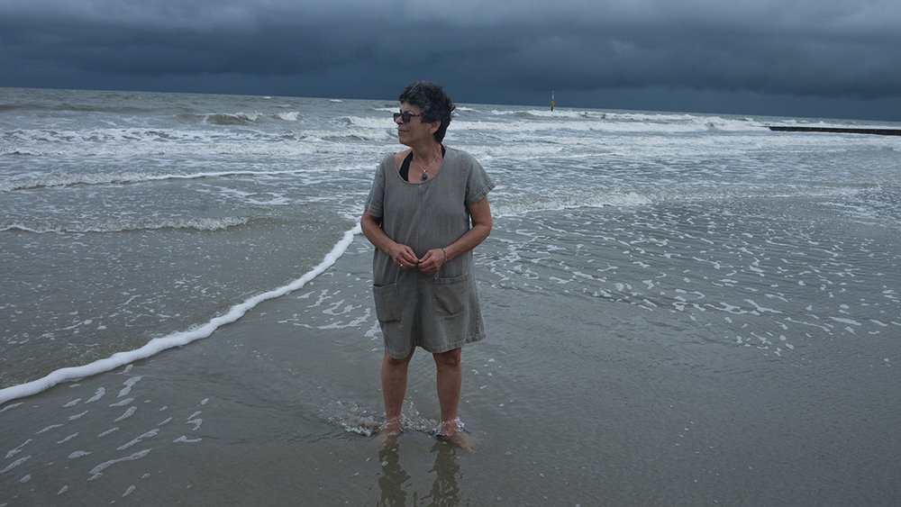 Leslie at Hunting Island, SC 9/13/16 with Tropical Storm Julie approaching