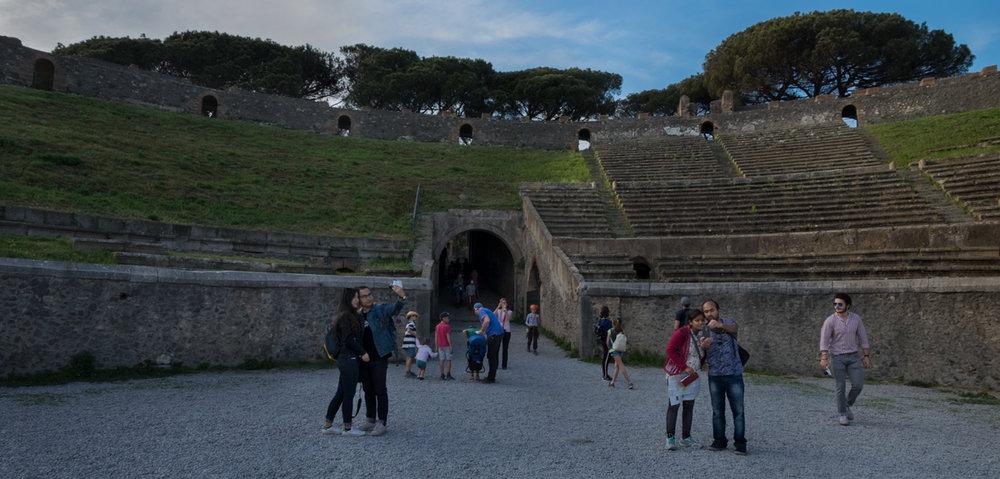 Amphitheater,Pompeii, Italy 2017