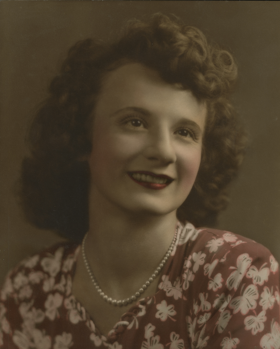 Catherine Agnes Galeano, ca. 1942
