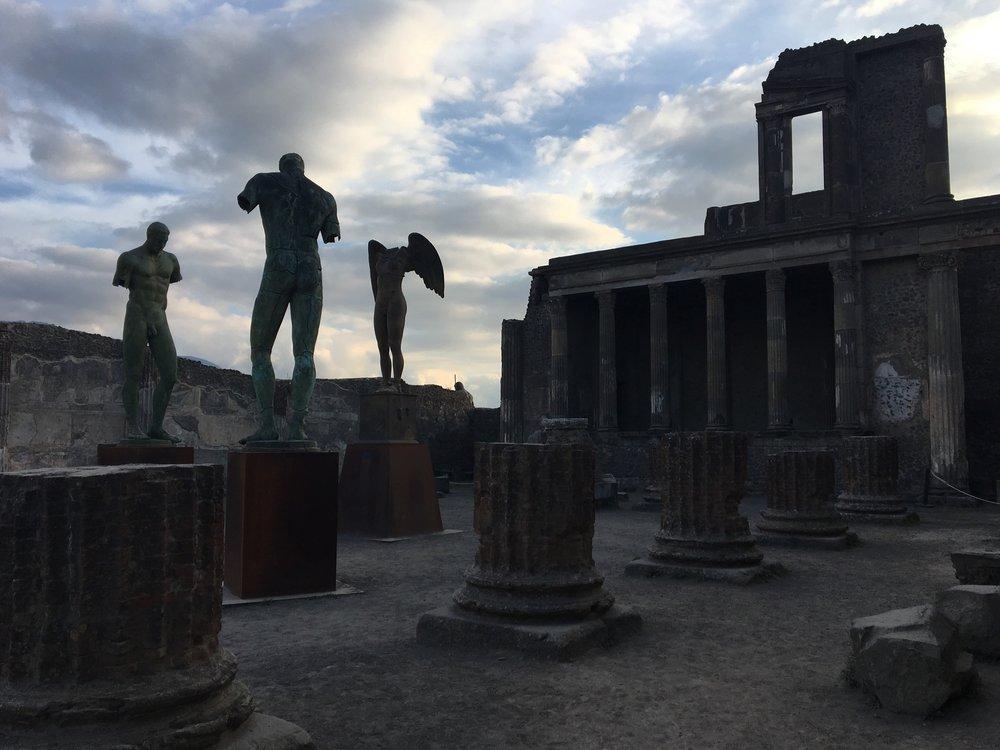 Pompeii, italy 2017