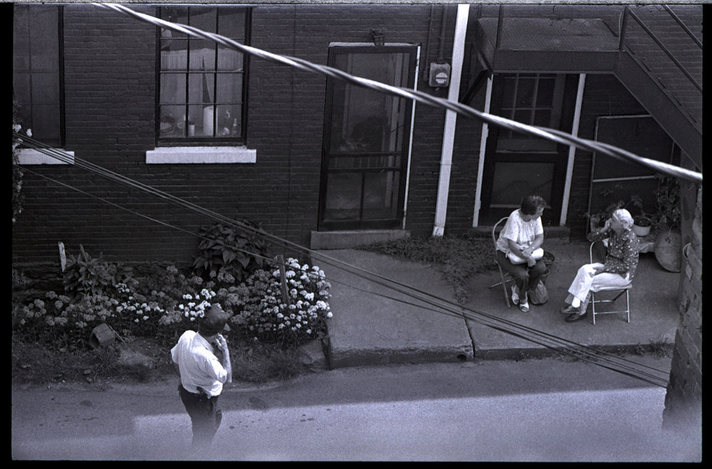 The side entrance of the Marshall Jail, Madison County, NC 1983 - support the Old Marshall Jail Project with Emily Patrick and Josh Copus
