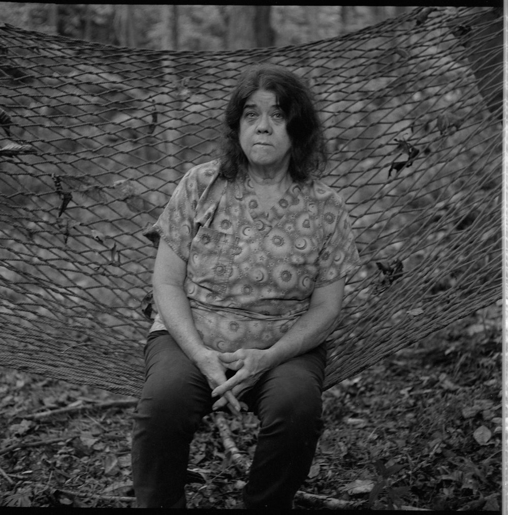 Candace, at Home, Sugar Camp, Madison County, NC 2018