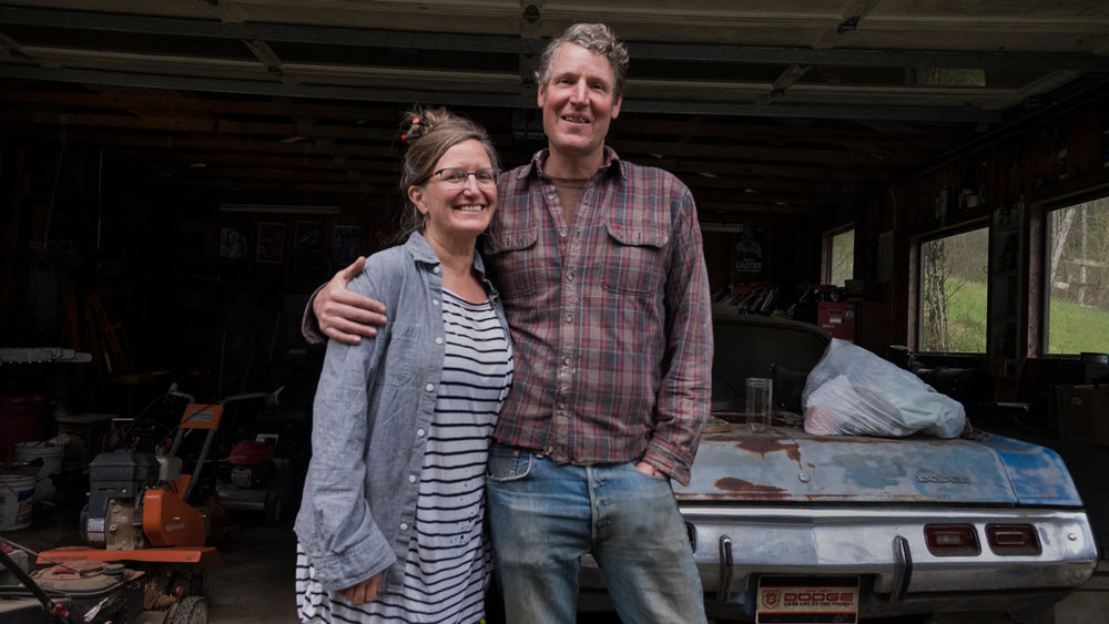 Susie and Todd at Home, Guntertown, Madison County 2019