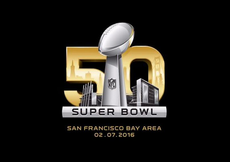 The NFL's official Super Bowl 50 logo. It ain't mine and I didn't make it ( please don't sue me)