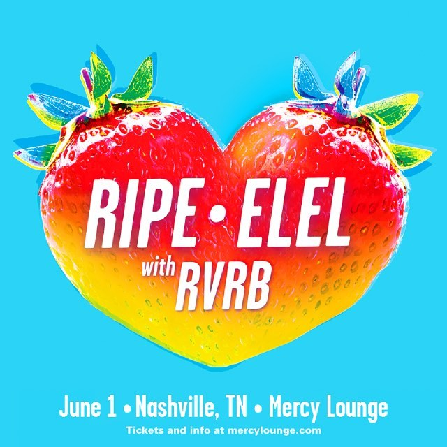 Tonight! It's gonna be a whole lotta fun. I hear there's gonna be a few fun surprises throughout the night :) #nashville #livemusic #ripetheband #elelmusic