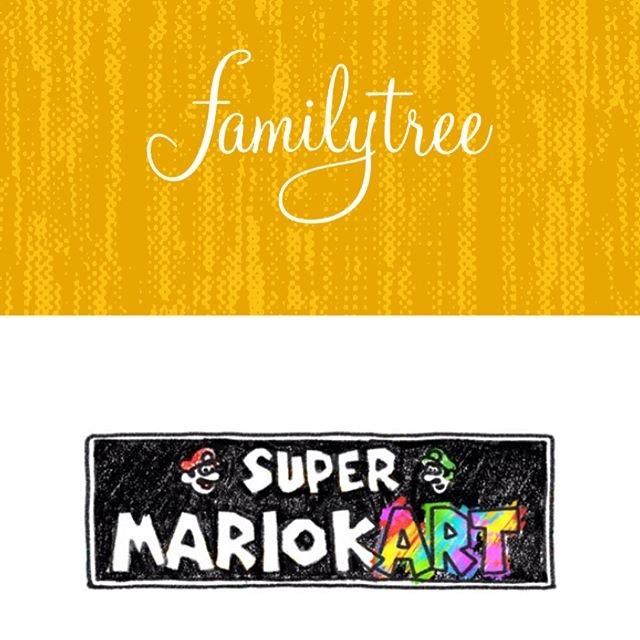 Super Mario kART is online and on sale! Go to familytreedesign.net to check it all out. Thanks to @familytre3 for gathering/hosting the online store, @thewarrennashville for hosting the show and @samsmyth for curating the whole thing!