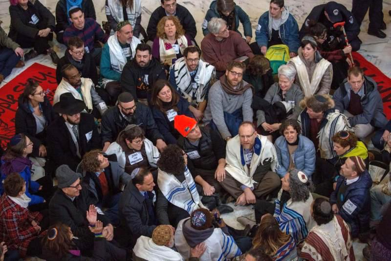 RabbiAtDACAProtest.jpg