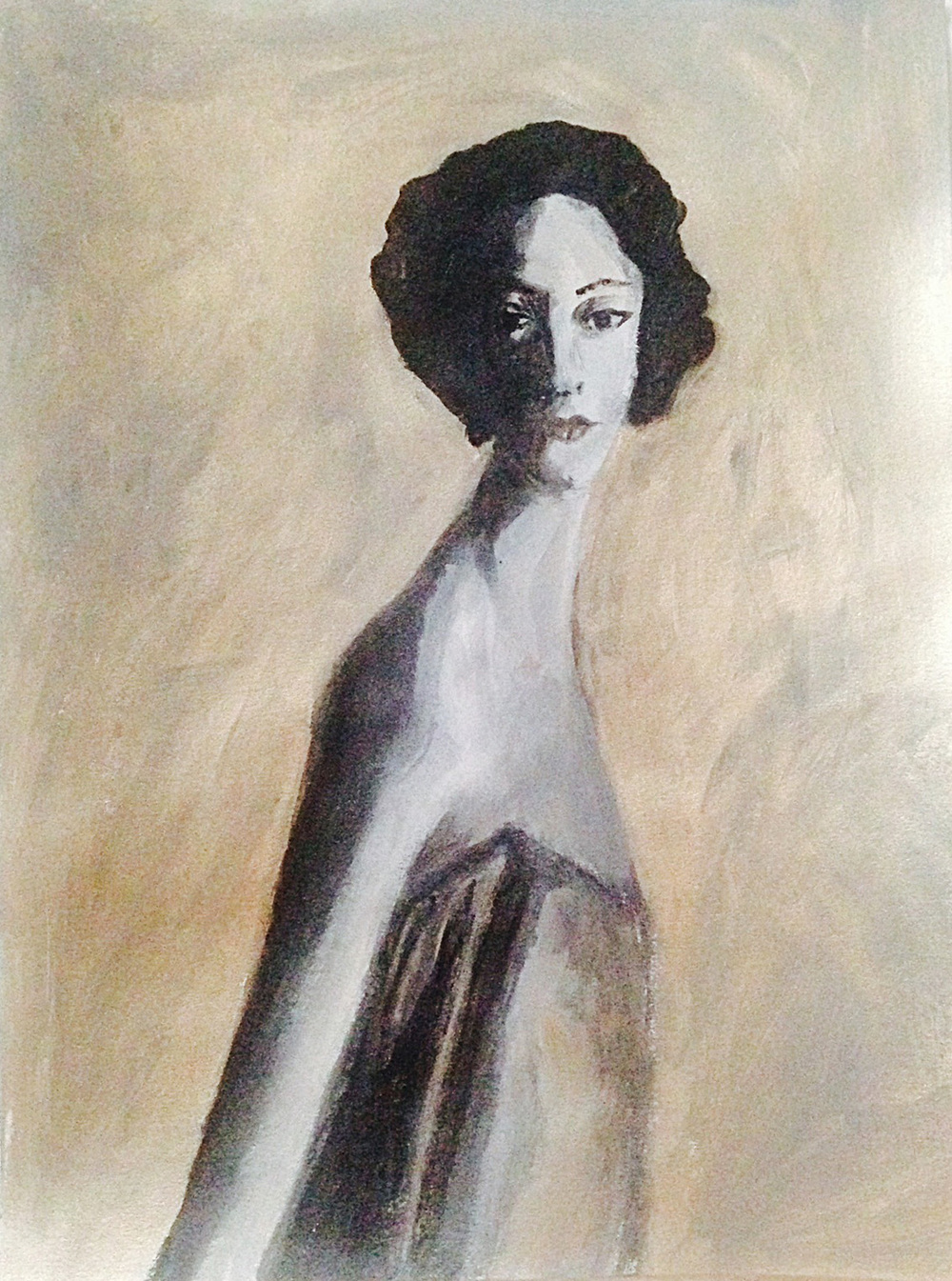 My version of Marella Agnelli
