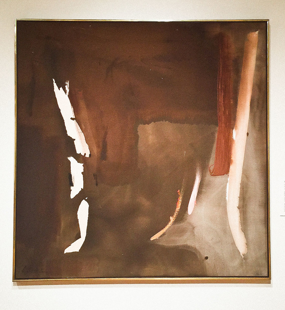 Art by  Helen Frankenthaler