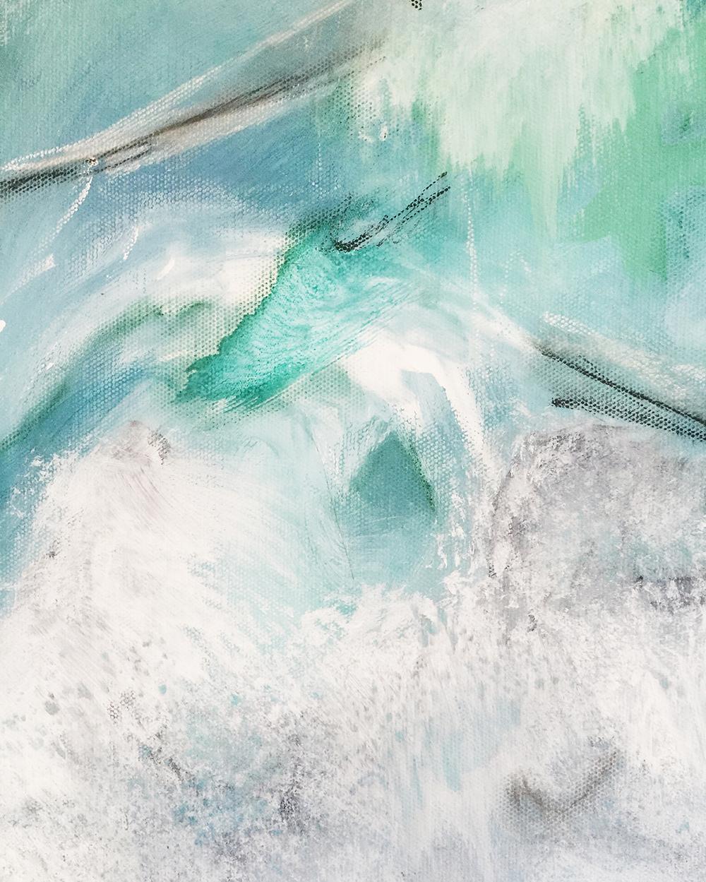 """""""Saliendo de el Mar""""Detail"""