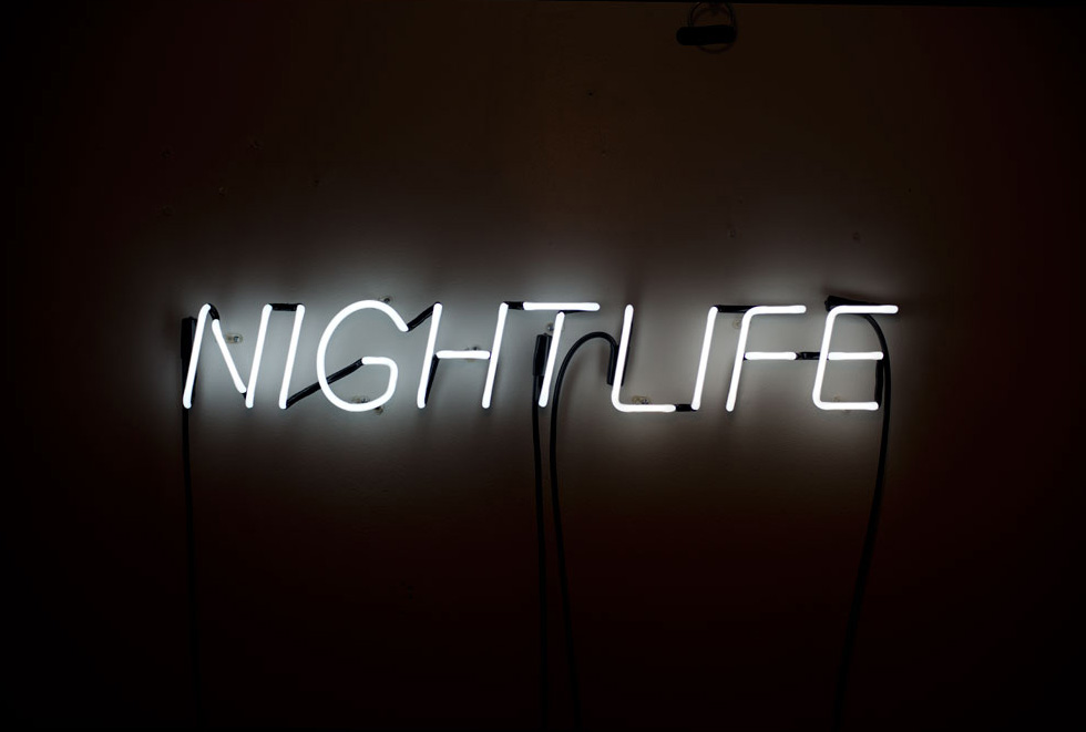 "Nightlife 2014 Neon, Powerpacks 5.5"" x 36"" x 1"""