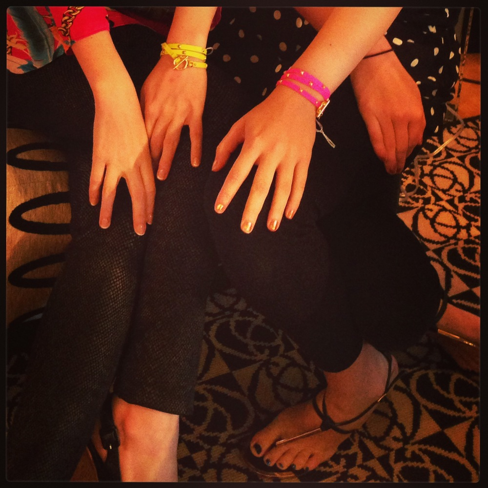 """Gorjana Jewelry on """"gorgois"""" girls"""