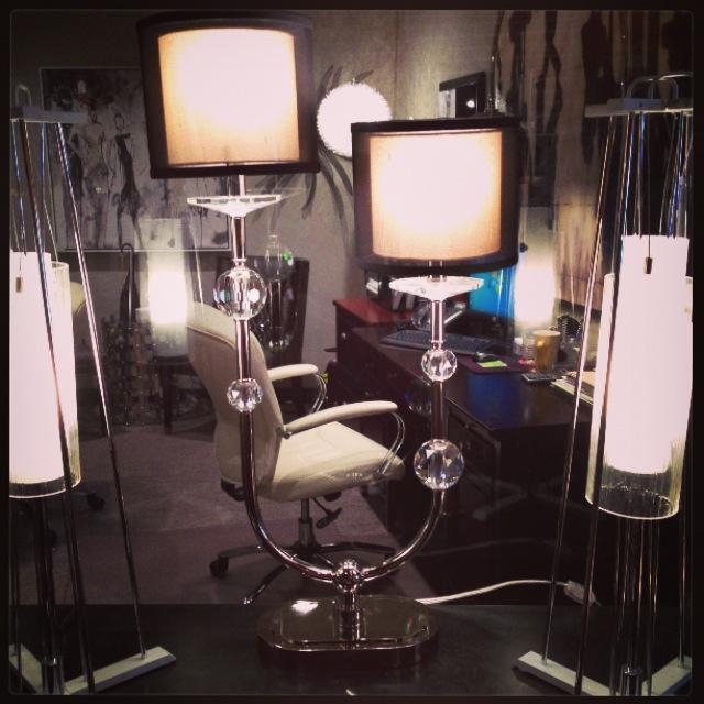 very cool asymmetrical lamp