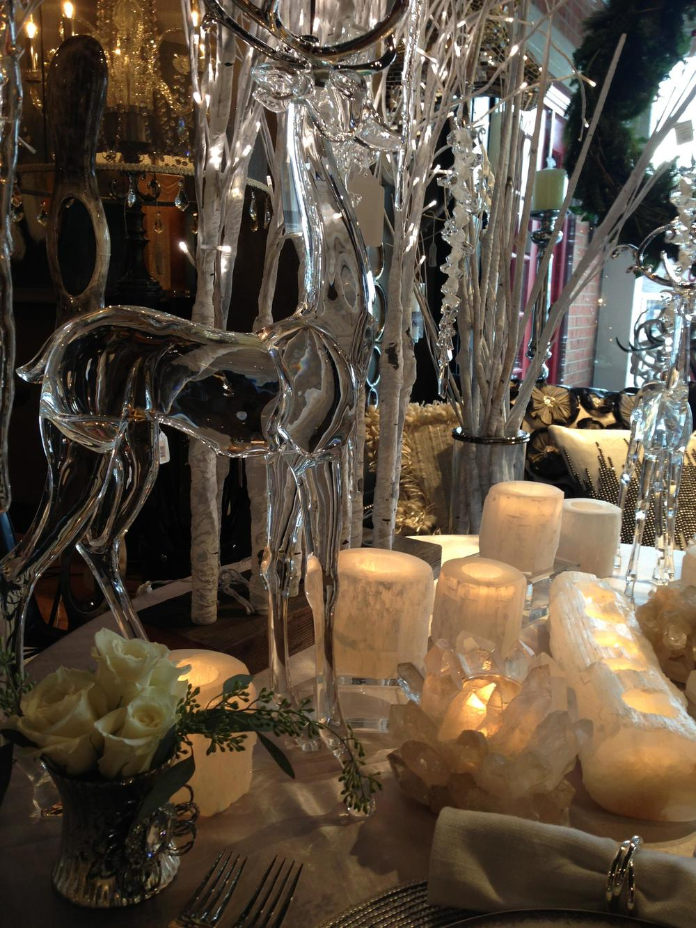 "Tablescape - ""Ice, Ice Savvy"": Kimberly Kowalski, allied ASID"
