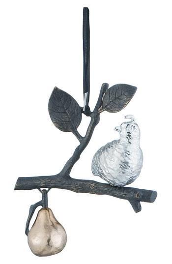 Michael Aram ornament. Available at Savvy.