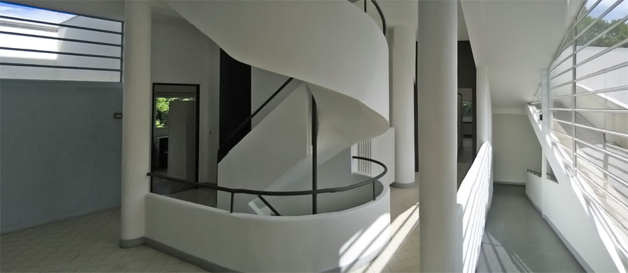 in interiors - Villa Savoye
