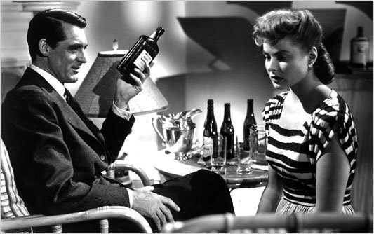 Cary Grant and Ingrid Bergman, Notorious