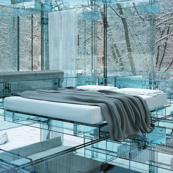 Glass House, Milan, Italy.