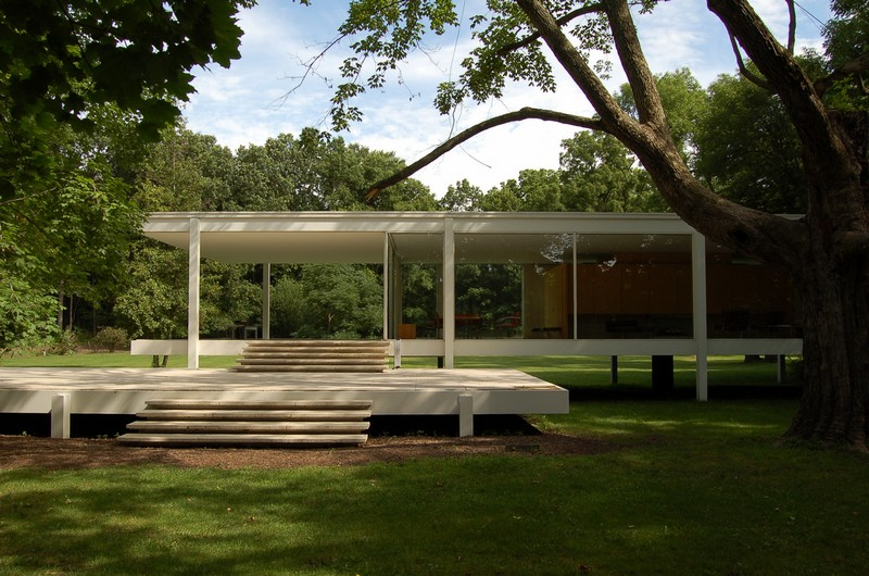 Farnsworth House, Plano, Illinois.