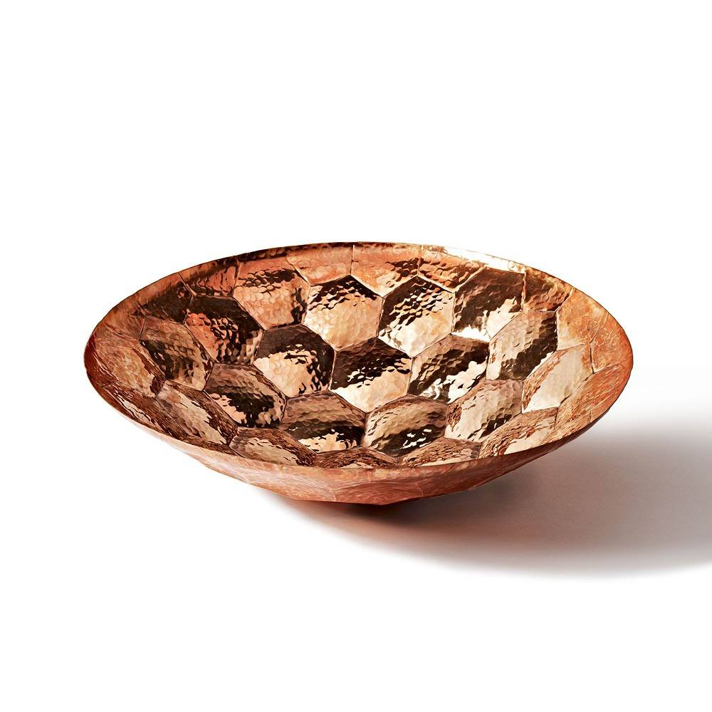Copper bowl by Tom Dixon.