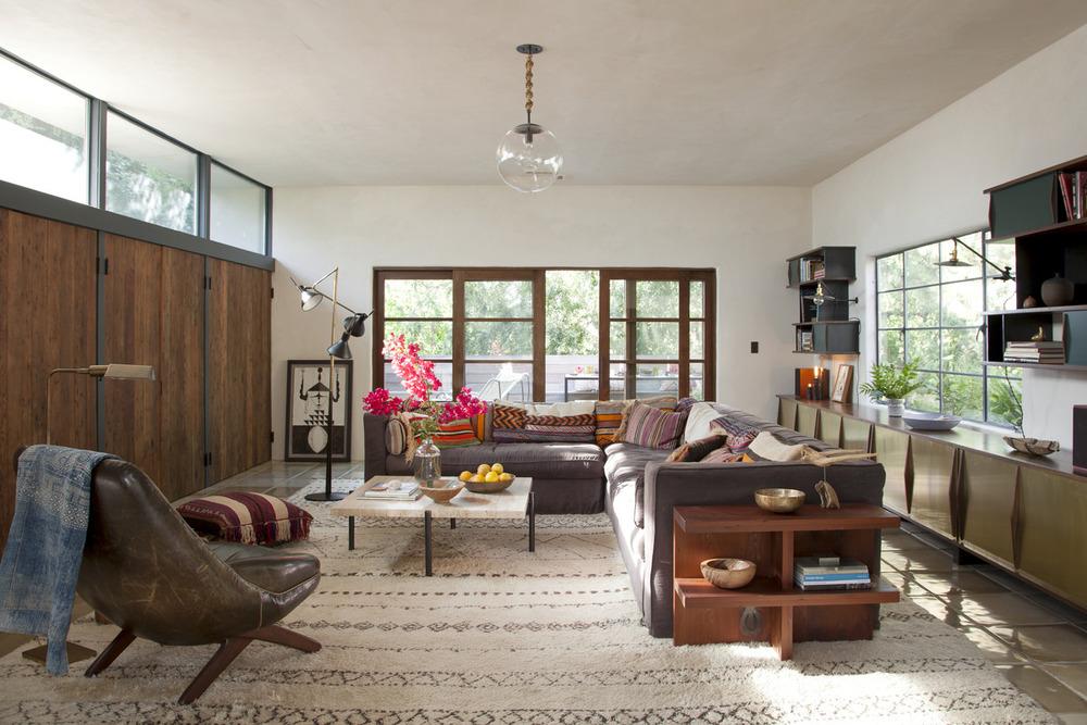 Residence. Carnation Street, Silverlake, California