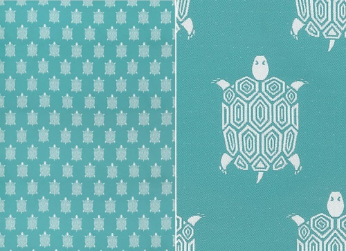 """Turtle Bay"" by Thibaut (an indoor/outdoor fabric)"