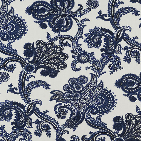 """Bay Island"" in Indigo by Ralph Lauren Home (an indoor/outdoor fabric)"