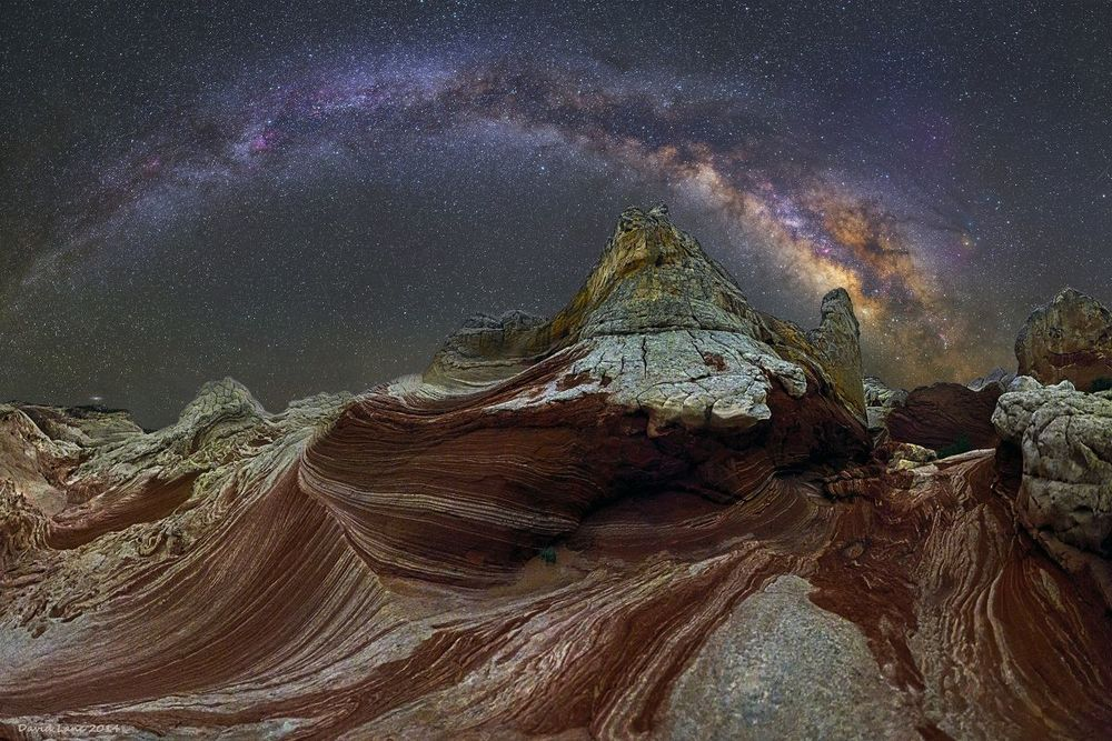 The Milky Way   Photography by Dave Lane