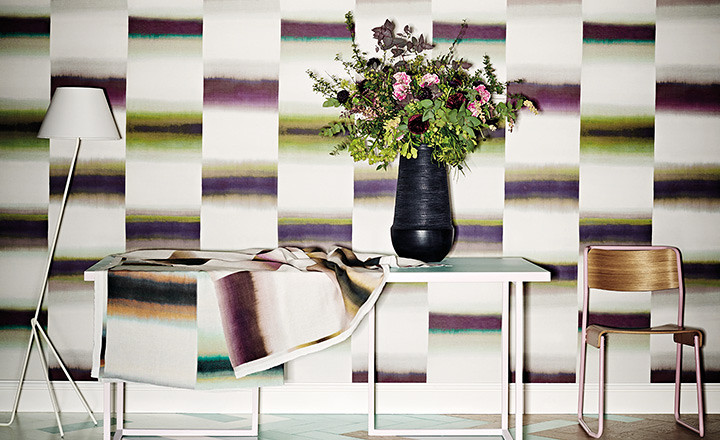 "IMAGE SOURCE: Romo Fabrics Black Edition   ""Kansai Prints"""