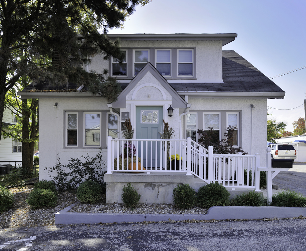 This charming home in Kirkwood is now home to Kate & Co., an award-winning wedding and event planning company.