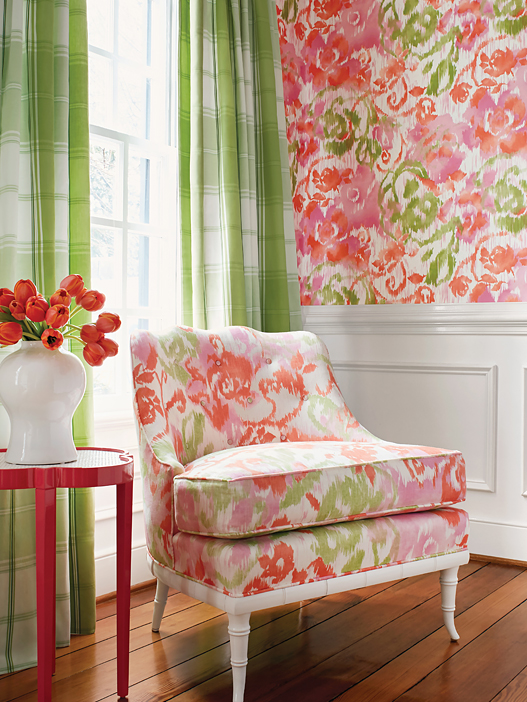 """Waterford Floral"" from Thibaut"