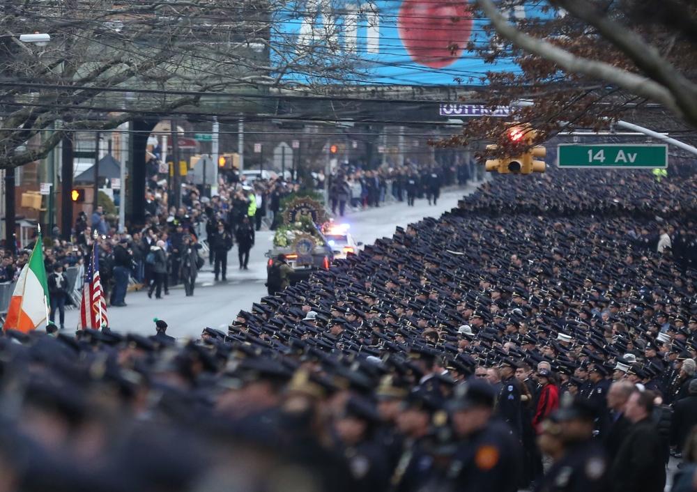 Funeral for slain NYPD cop Wenjian Liu.JPG