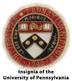 Insignia of the University of Pennsylvania
