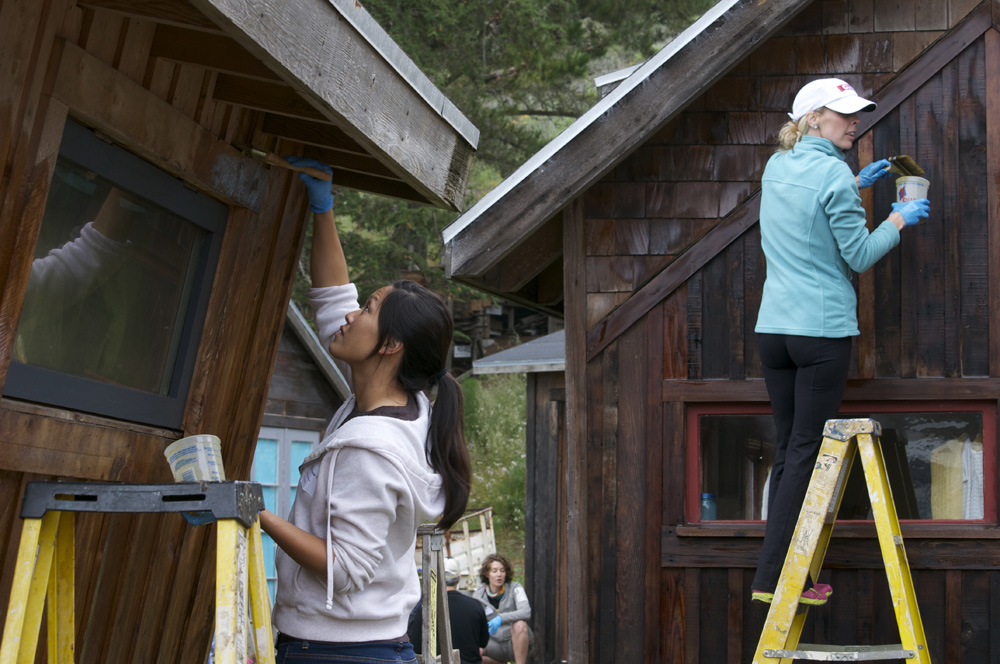 Clif Bar Volunteer Day At Slide Ranch - house painting(1000px).jpg