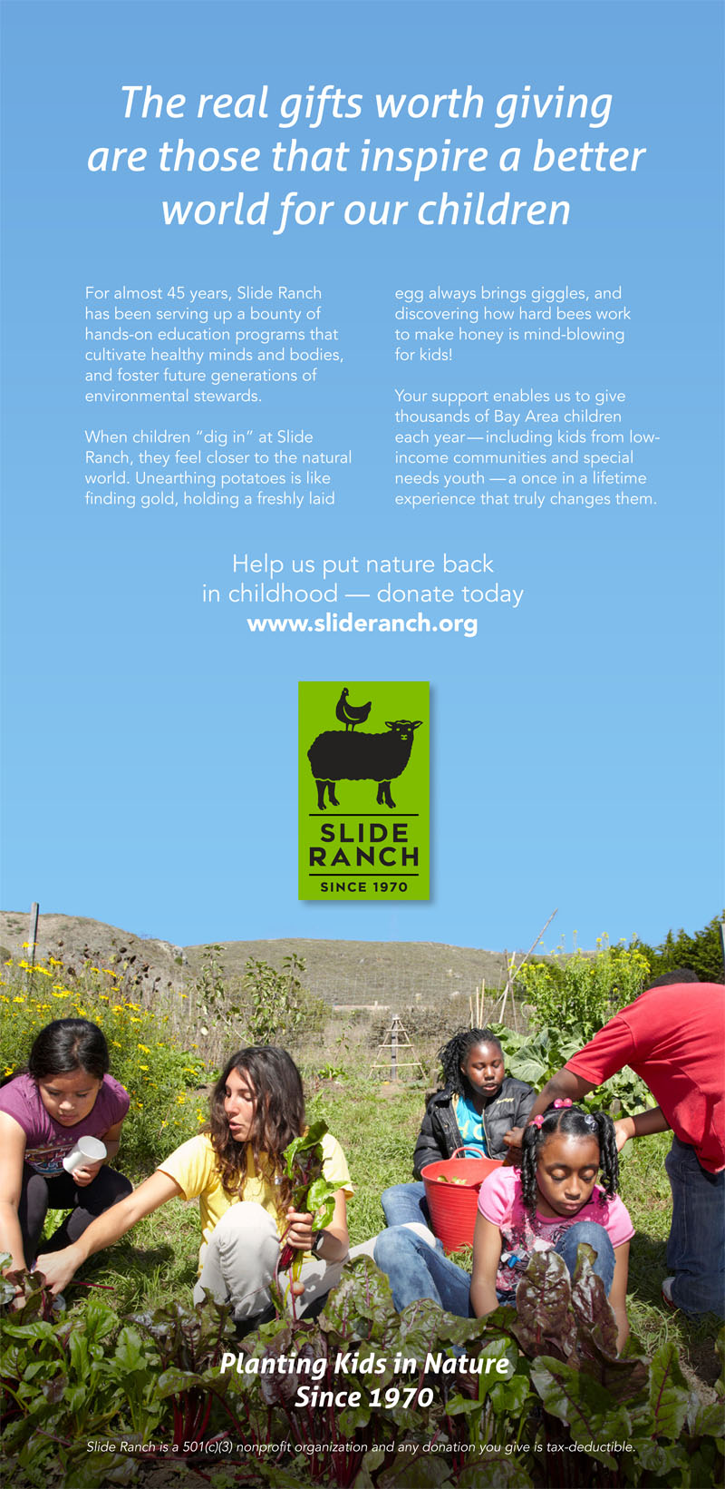120414_SlideRanch_SF Chronicle Advert