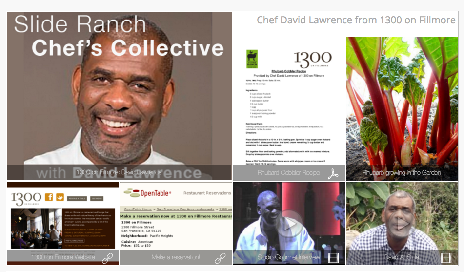 Slide Ranch Chef's Collective, with David Lawrence     - Meet Chef David Lawrence, founding member of Slide Ranch Chef's Collective