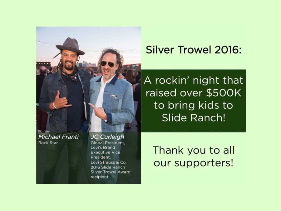 Silver Trowel 2016 was a rockin' success! Thank you!