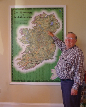 Genealogy at the Immigration Center got me started. Now I love all the Irish people and all the things we do together. - Pete McEneany