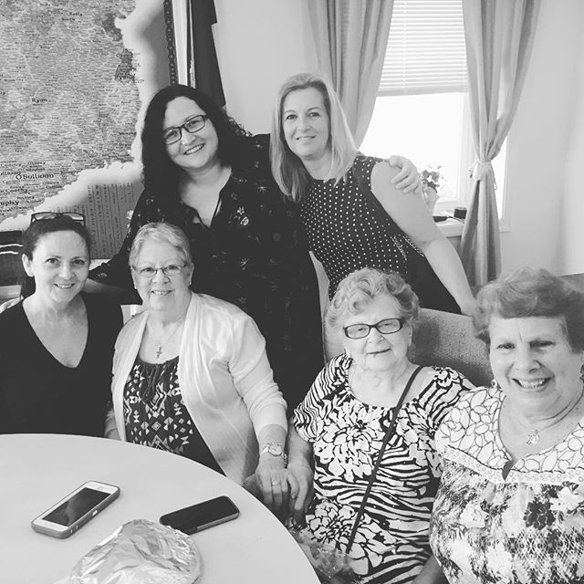 Leslie's last weekly luncheon at the IIC. We will miss you Les. Thank you for everything ❤️