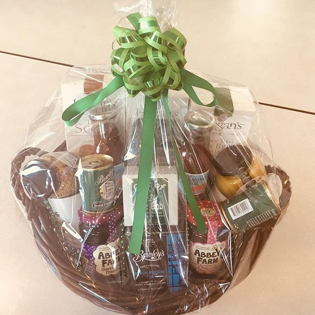 Look what Bewley Irish Imports just generously donated to us for upcoming Golf Outing. Thank you so much to Ambarish and the team for gifting this to us. There is going to be one lucky prize winner for this basket! #golfouting #irishfood #golfprizes