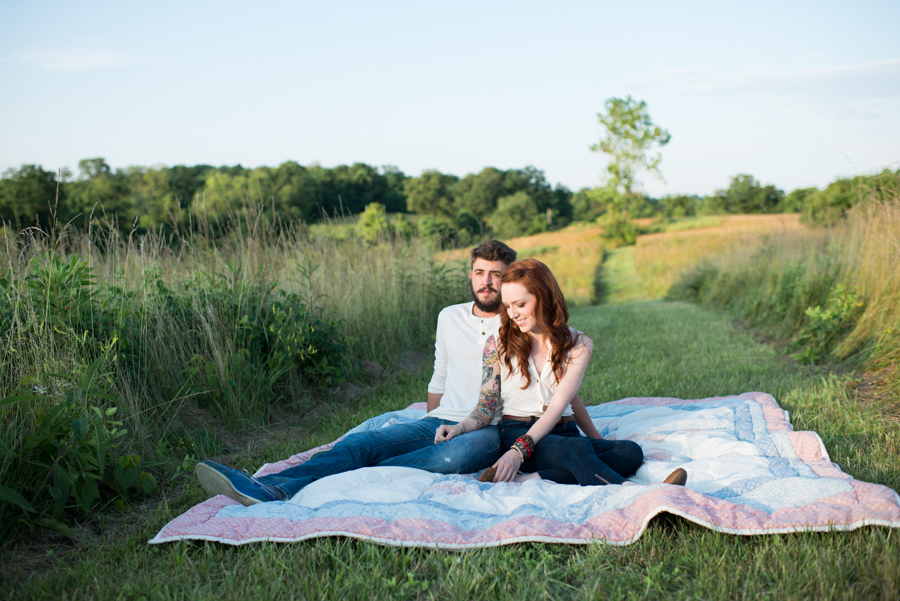 Farm Engagement Inspiration Session by Lauren W Photography