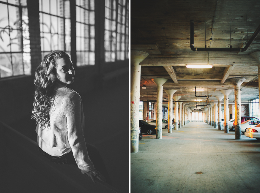 Urban Portrait Session by Lauren W Photography