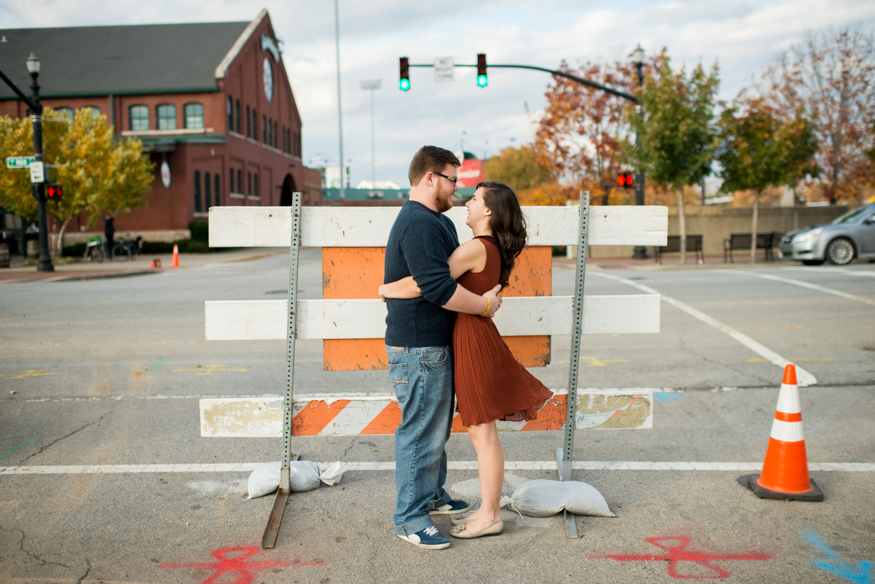 Lauren W Photography | Antique Store Engagement
