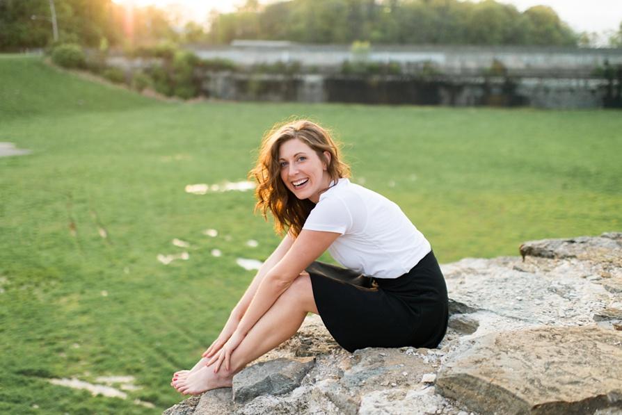 Lauren W Photography // Eden Park Portrait