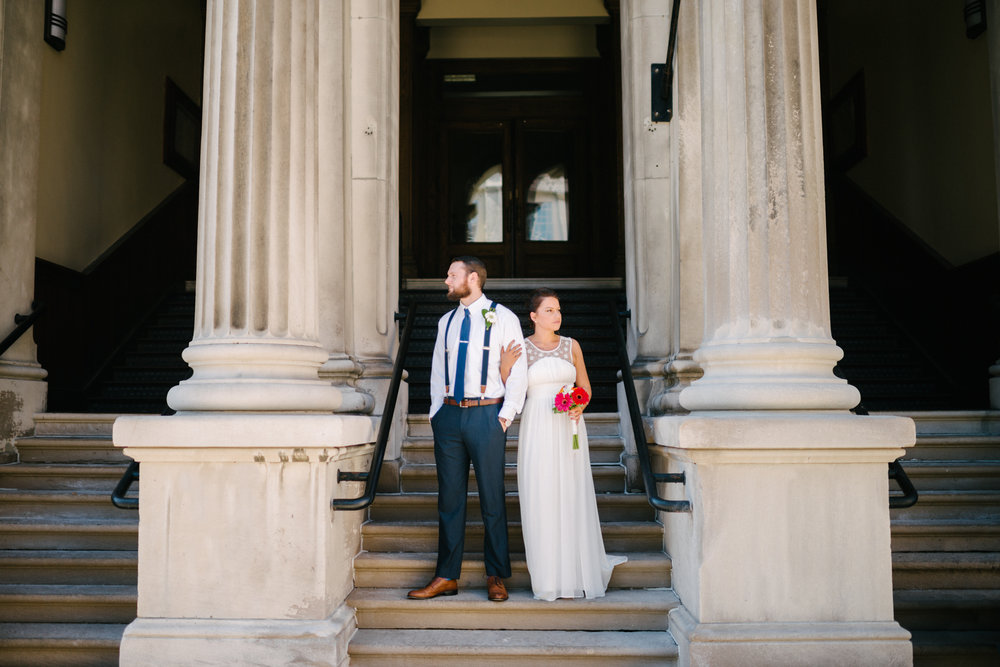 Courthouse Elopement Lauren W Photography