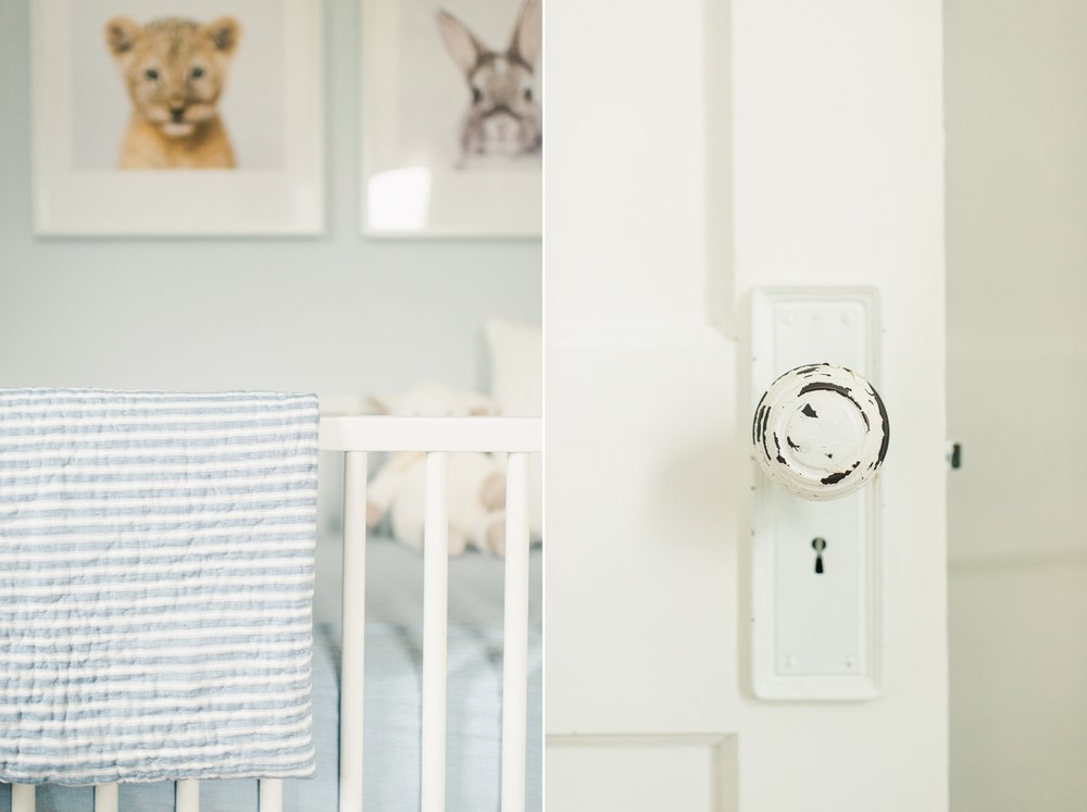 baby boy nursery details