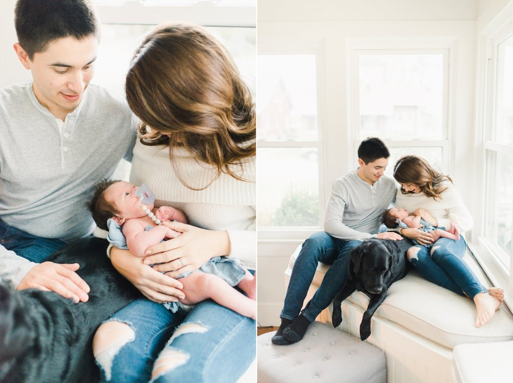 cincinnati, ohio light and airy newborn photographer
