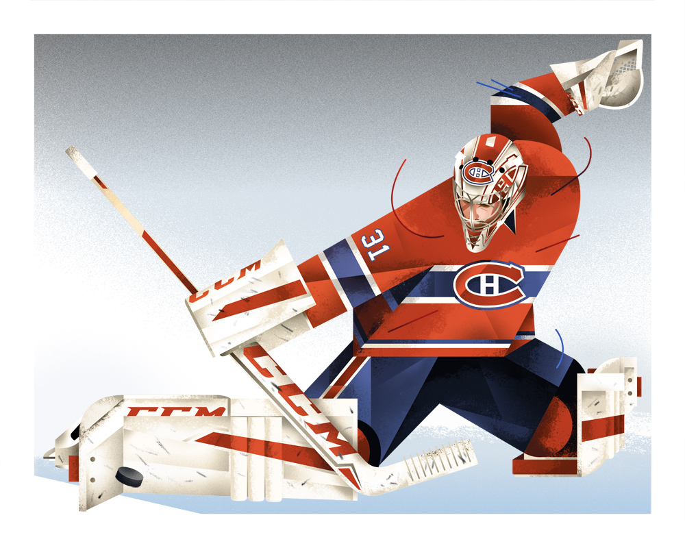 Year Of Action >> #31, Carey Price — DAVE MURRAY