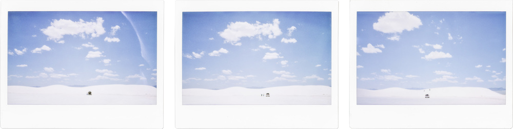 Sequence of Sledding // White Sands, NM